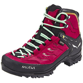 Salewa Rapace GTX Shoes Women Tawny Port/Limelight